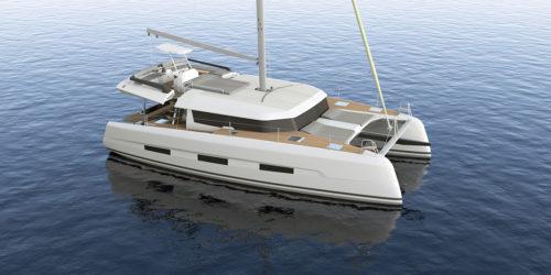 Dufour Catamaran 48 - Animasjon 1