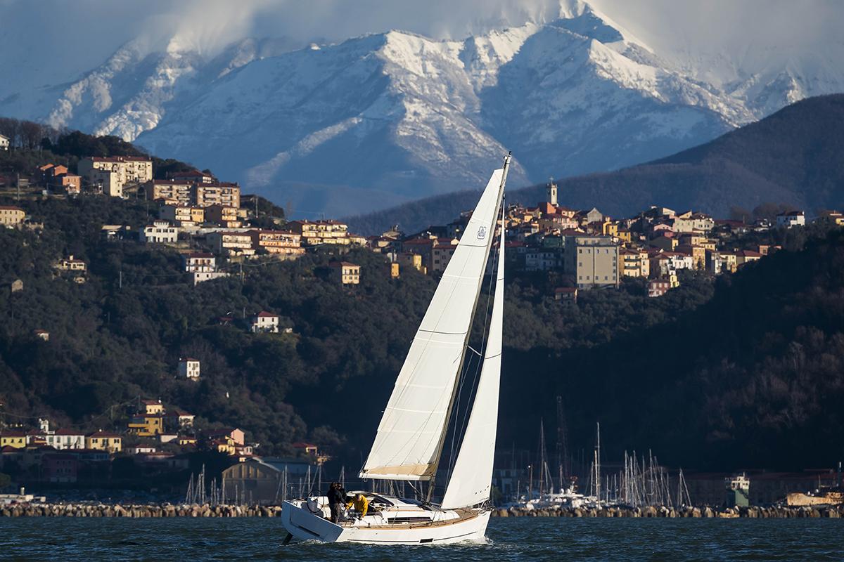 La Spezia, Italy,  February 2014The New Dufour 310Ph: Guido Cantini / Seasee.com