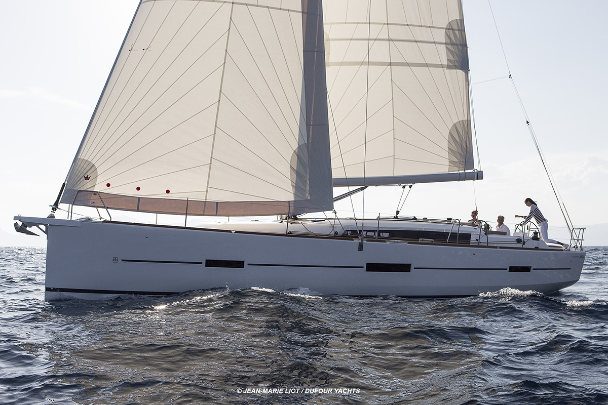 Pour le chantier Dufour yachts, le Dufour 460Photo © Jean-Marie LIOT / Dufour Yachts